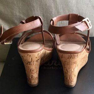 Charles David Shoes - EUC Charles David Wedge Sandals
